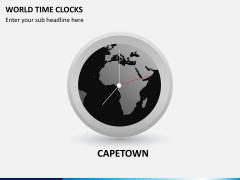 World time clocks PPT slide 3