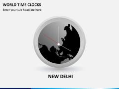 World time clocks PPT slide 4