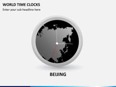World time clocks PPT slide 5
