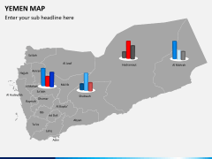 Yemen map PPT slide 14