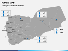 Yemen map PPT slide 6