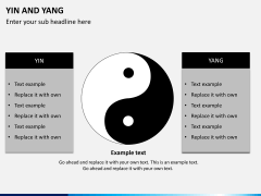 Yin and yang PPT slide 5