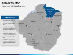 Zimbabwe Map PPT slide 11