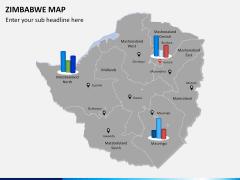 Zimbabwe Map PPT slide 13