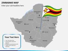 Zimbabwe Map PPT slide 18