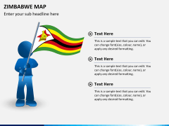 Zimbabwe Map PPT slide 19