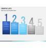 Creative lists PPT slide 1