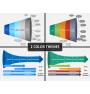 Horizontal funnel PPT cover slide
