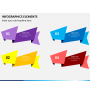 Infographic elements PPT slide 13