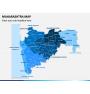 Maharashtra Map PPT Slide 1