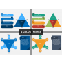Project Management Triangle PPT Cover Slide