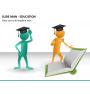 Slide man education PPT slide 5