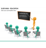 Slide man education PPT slide 8