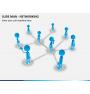 Slide man networking PPT slide 1