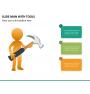 Slide man with tools PPT slide 10