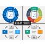 Task management PPT cover slide
