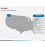 USA map PPT slide 10