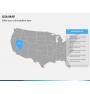 USA map PPT slide 11