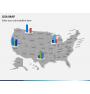 USA map PPT slide 20