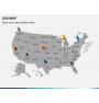 USA map PPT slide 4