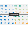 Web Icons PPT cover slide