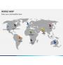 World map PPT slide 3