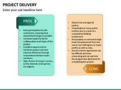 Project Delivery PPT Slide 22
