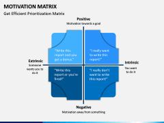 Motivation Matrix PPT Slide 6