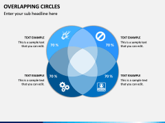 Overlapping Circles PPT Slide 4