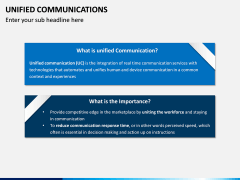 Unified Communications PPT Slide 1