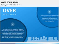 Over Population PPT Slide 2