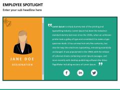 Employee Spotlight PPT Slide 35