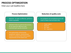 Process Optimization PPT Slide 30