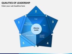 Qualities of Leadership PPT Slide 1