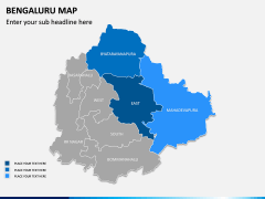 Bengaluru Map PPT Slide 7