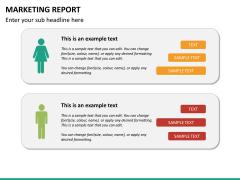 Marketing report PPT slide 17