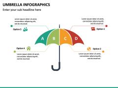 Umbrella Infographics PPT Slide 20