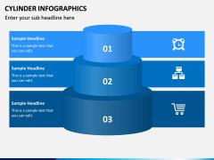 Cylinder Infographics PPT Slide 9