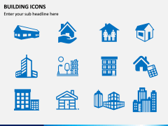 Building Icons PPT Slide 10