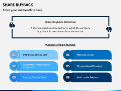 Share Buyback PPT Slide 1