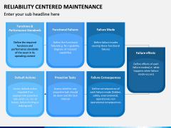 Reliability Centered Maintenance PPT Slide 14