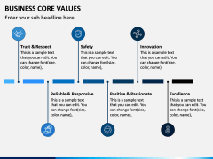 Business Core Values PPT Slide 12