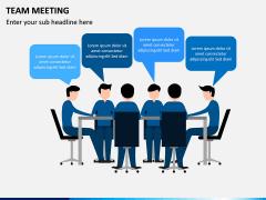 Team Meeting PPT Slide 5