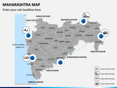 Maharashtra Map PPT Slide 5