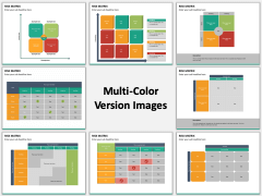 Risk Matrix Multicolor Combined