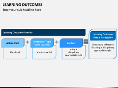 Learning Outcomes PPT Slide 6