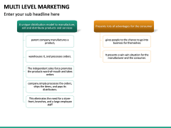 Multi Level Marketing (MLM) PPT Slide 18