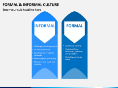 Formal and Informal Culture PPT Slide 4