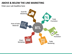 Above and Below the Line Marketing PPT Slide 22