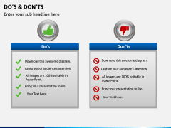 Do's and Don'ts PPT slide 4